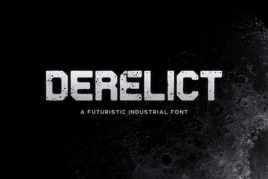 Futuristic Industrial Typeface