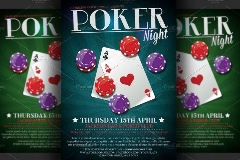 Gambling Event Flyer Design