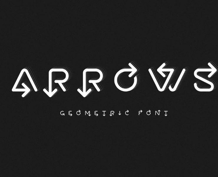 11+ Creative Arrow Fonts TTF and OTF Download