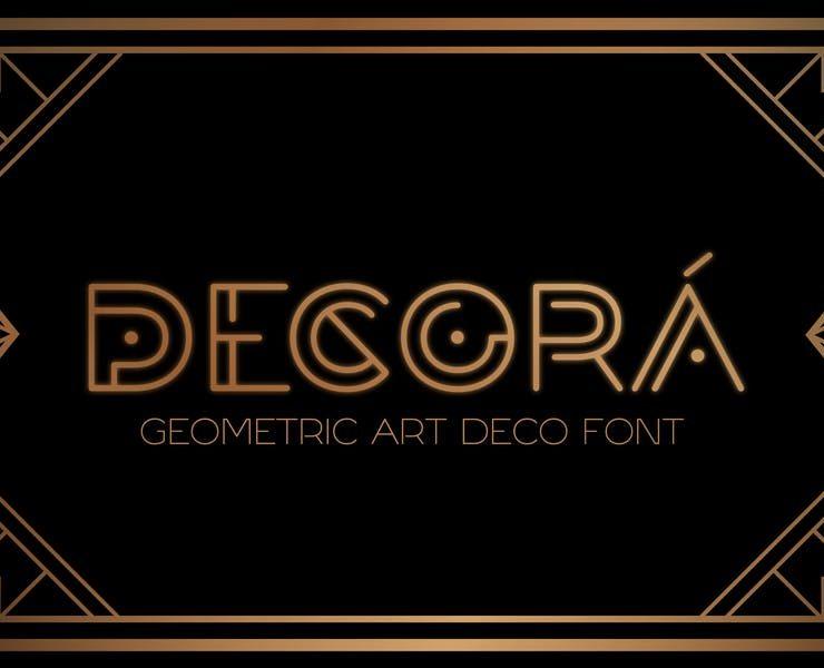 21+ Free Geometric Fonts TTF and OTF Download