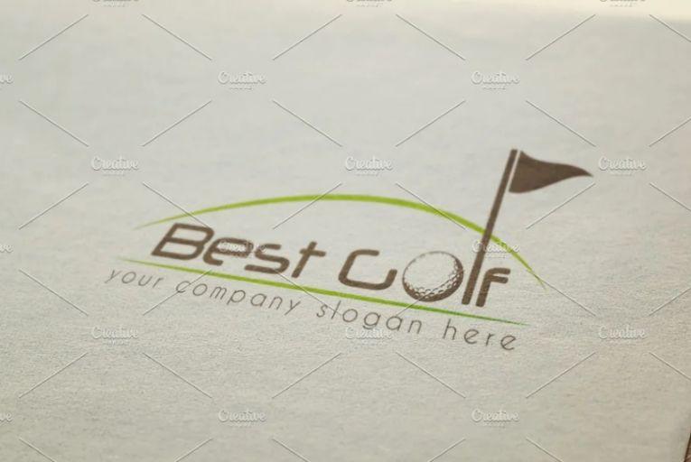 Gold Course Logo Idea