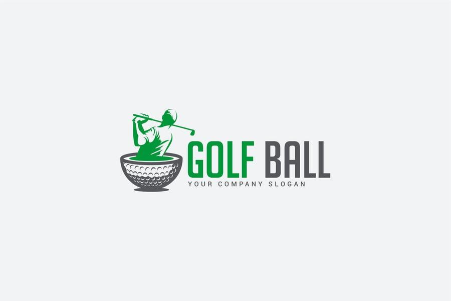Golf Ball Brandig Design