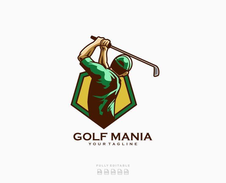 23+ Free Golf Logo Design Templates Download
