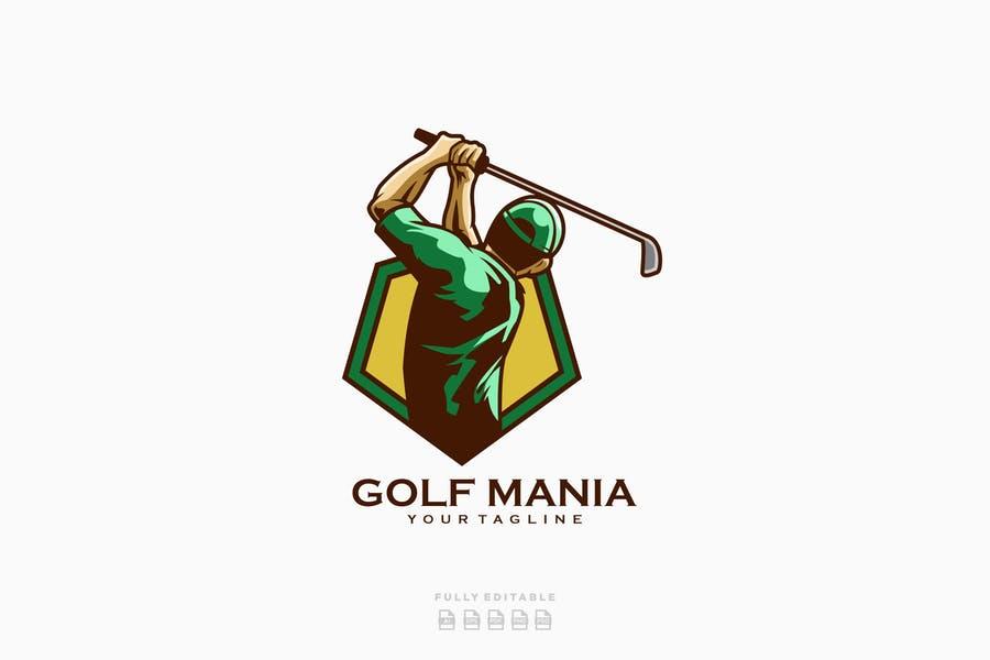 Golf Game Logotype Design