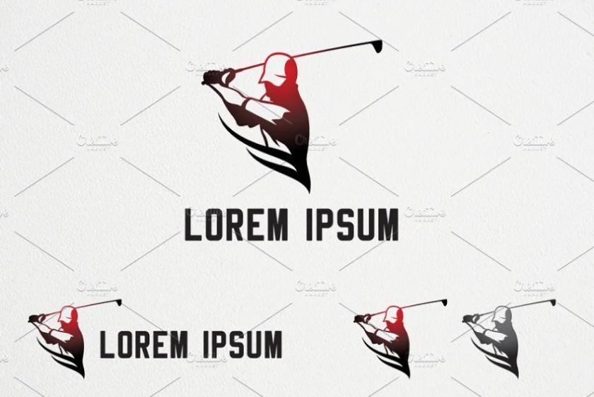 Golf Trainer Logotype Design