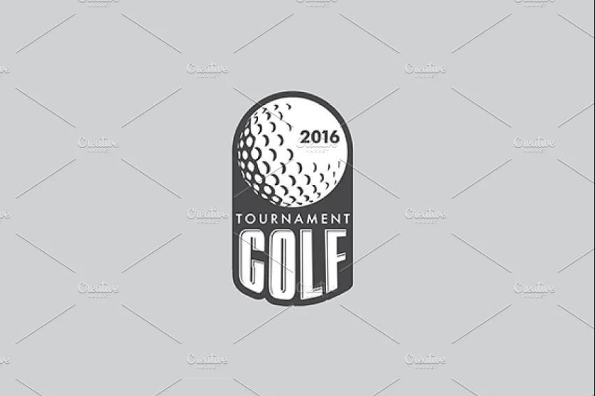 Golf Vector Logtype Design