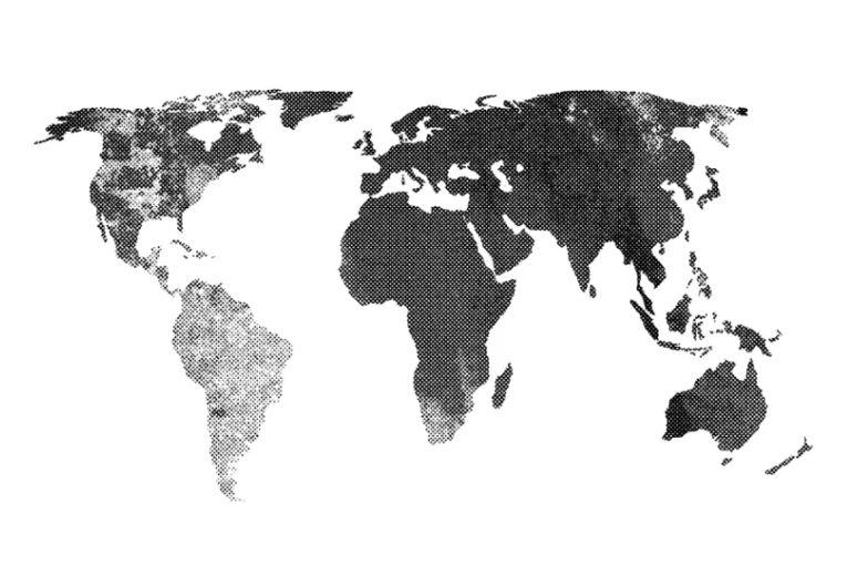 Grunge Vector Map Texture