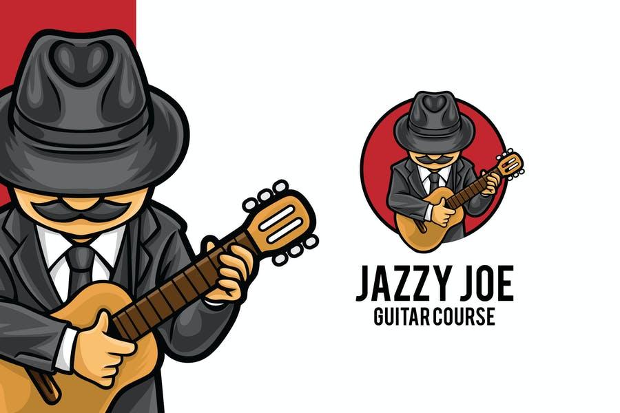 Guitar Course Logo Design
