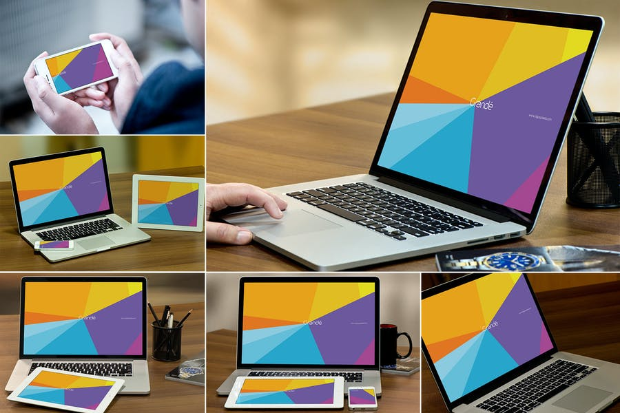 HD Quality Laptop Mockups