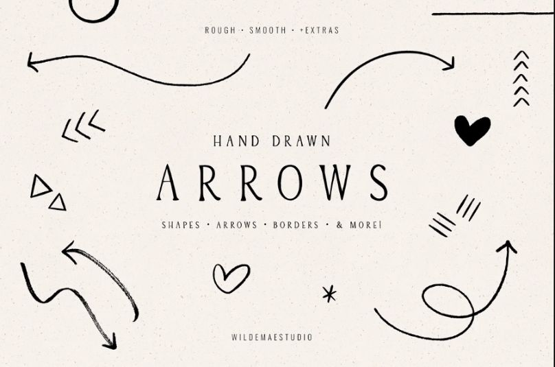Hand Drawn Doodles Font