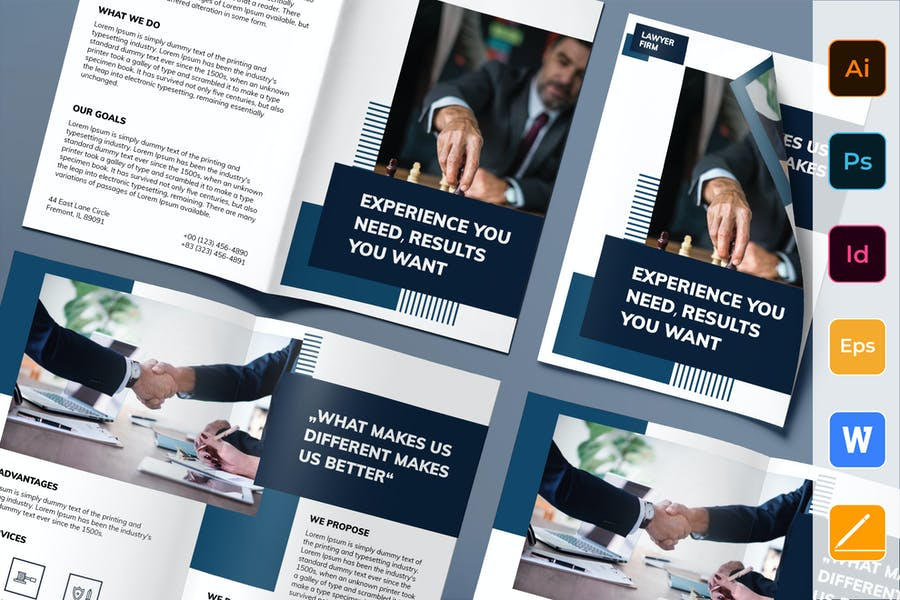 High Quality Law Firm Brochure