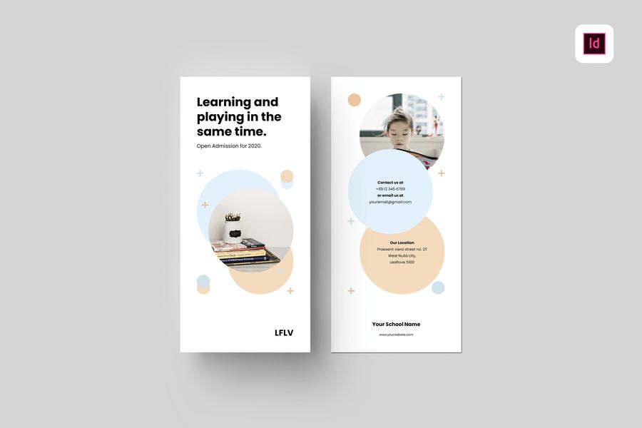 High Quality School Brochure Template