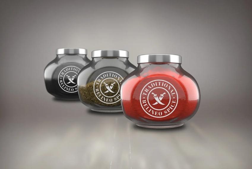 High Quality Spice Bottle Mockup