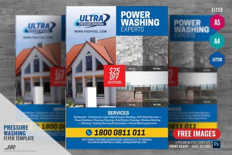 21+ Free Pressure Washing Flyer Templates Download