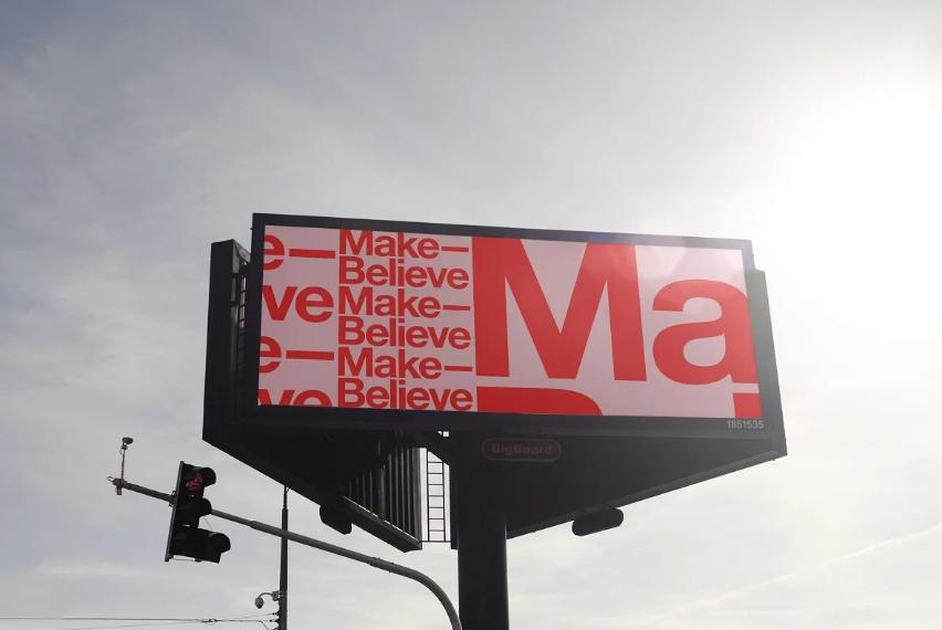 Highway Billboard Branding Mockup