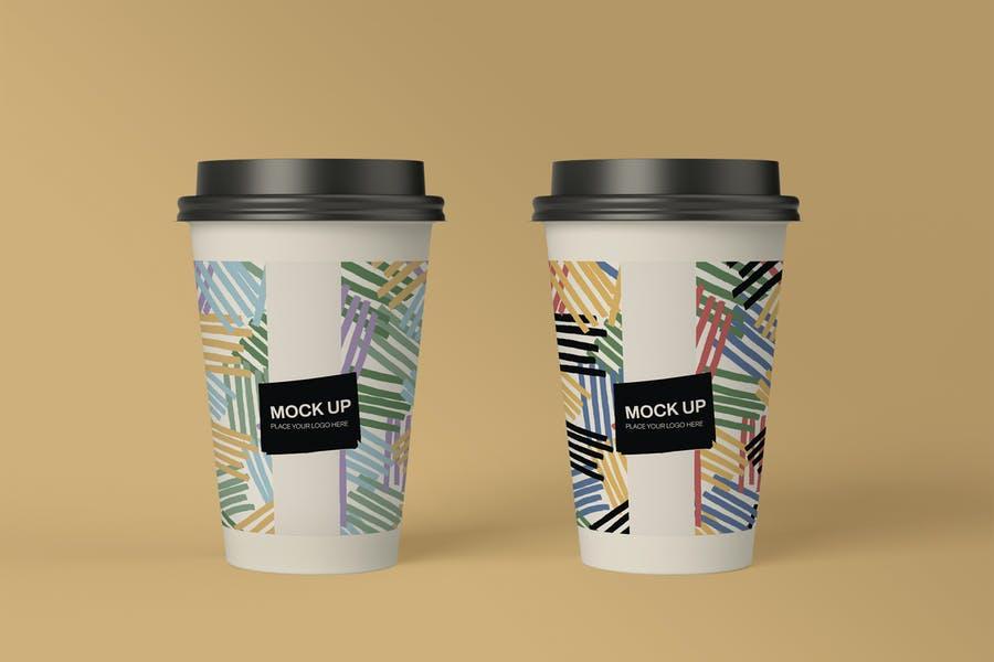 Hiigh Resolution Paper Cup Mockup