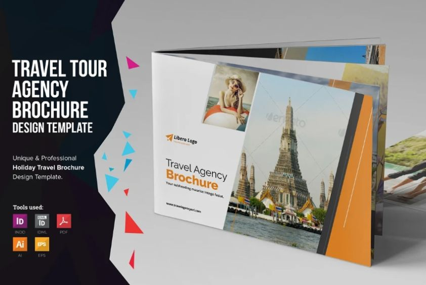 Holiday Tour Brochure Templates