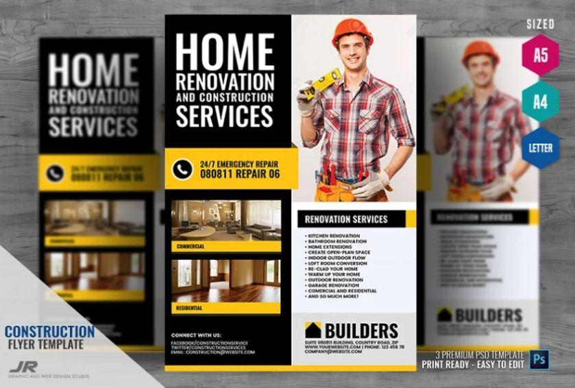 Home Renovation Company Flyer
