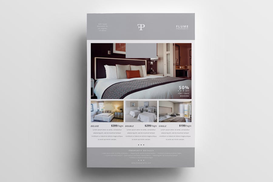 Hotels Promotional Poster Designs