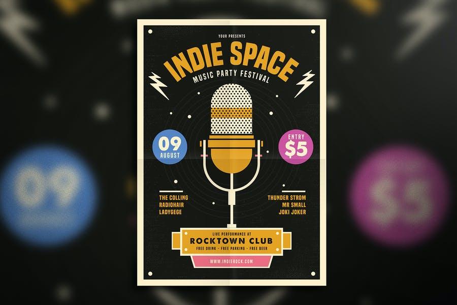 Indie Summer Flyer