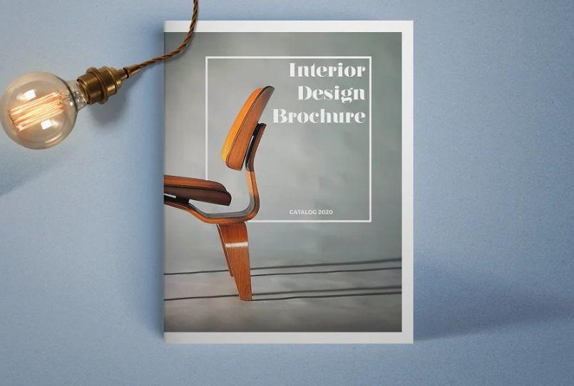 Interior Furniture Brochure Templates