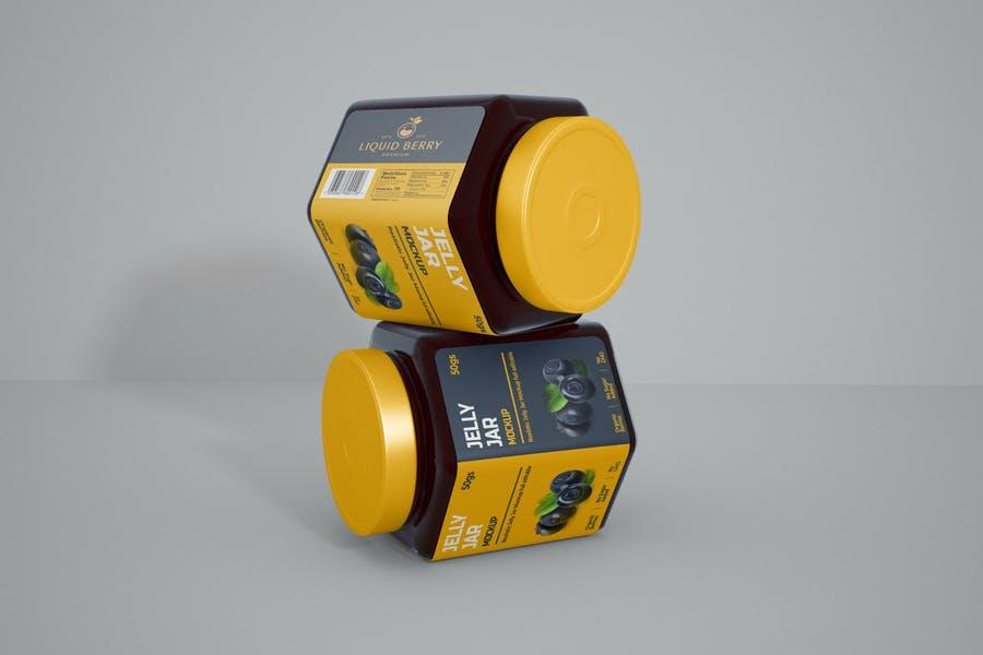 Jelly Jar  Branding PSD Pack