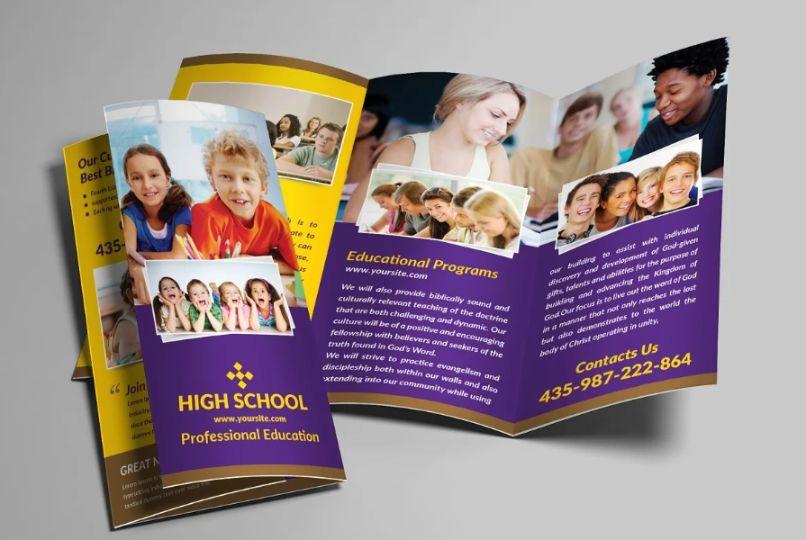Junior School Promotional Brochure Template