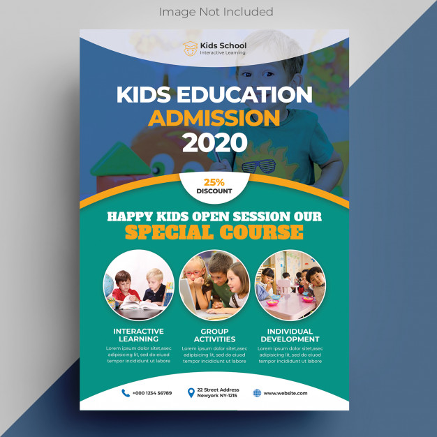 Kids Educational Brochure