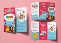 Kids School Brochure template
