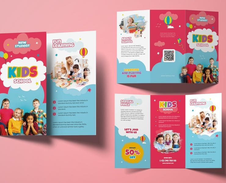 15+ Best Kids School Brochure Templates Download