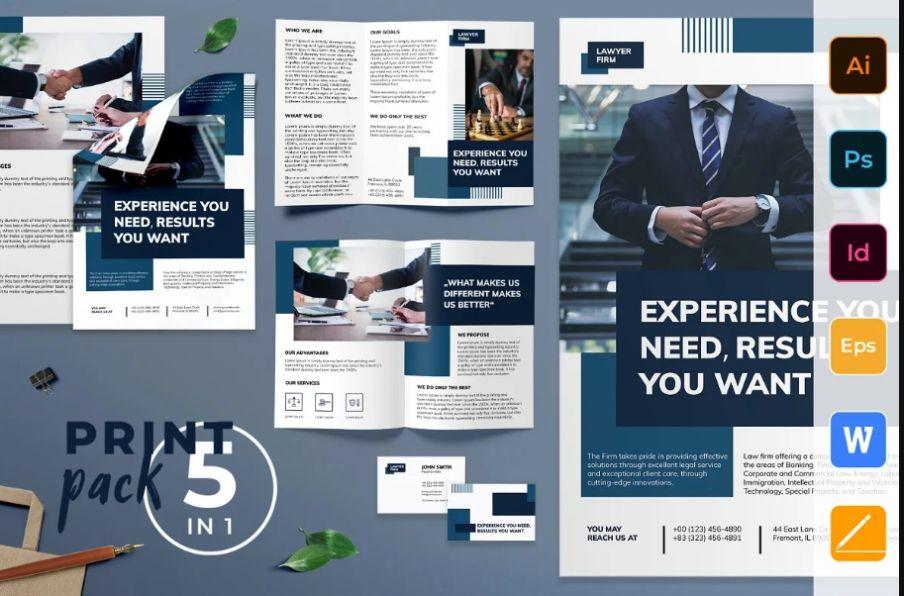 Law Firm Branding Print Set