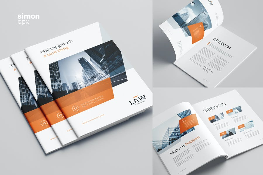 Law Firm Promotional Brochure