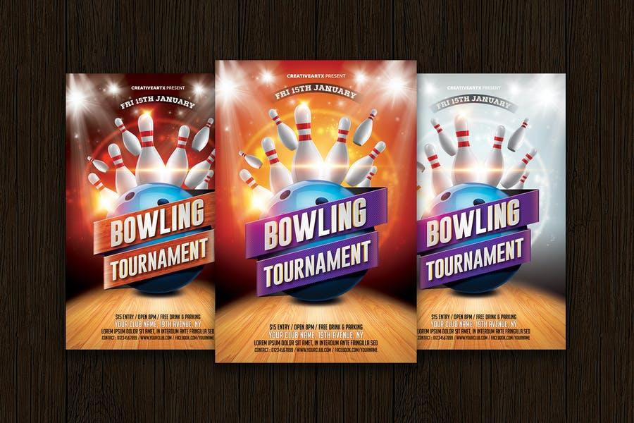 Layered Bowling Tournament