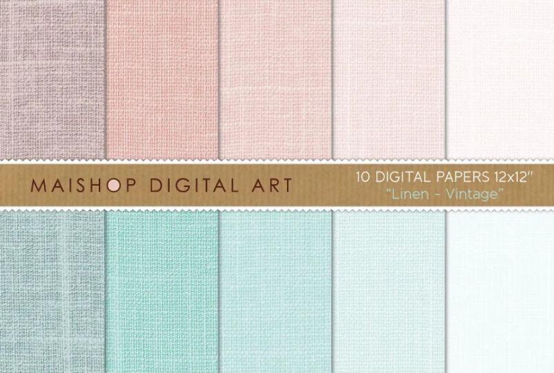 Lenin Digital Paper Textures