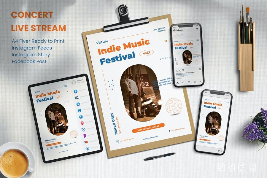 Live Concert Promotional Set