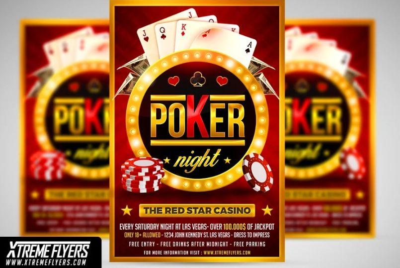 Luxury Casino Flyer Designs