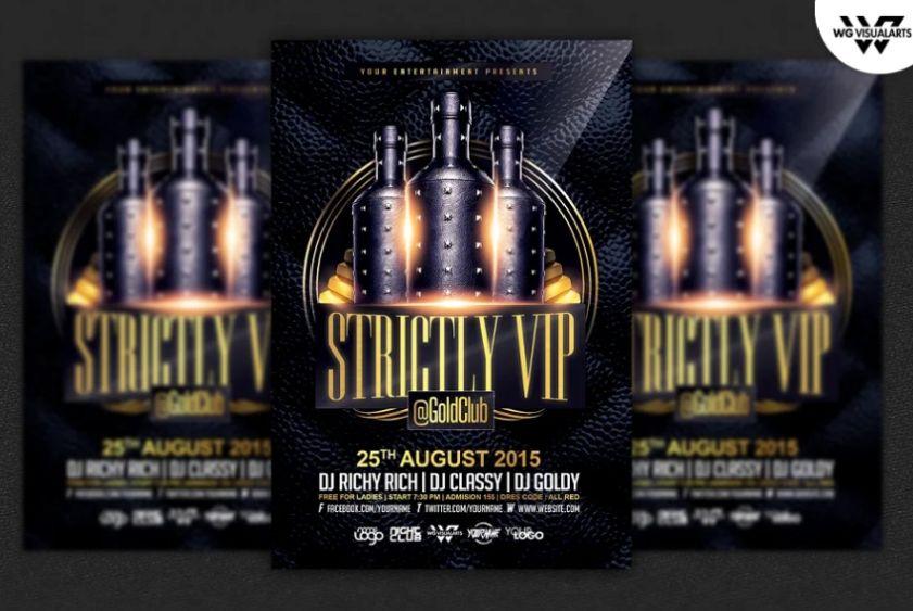 Luxury Invitation Flyer Templates