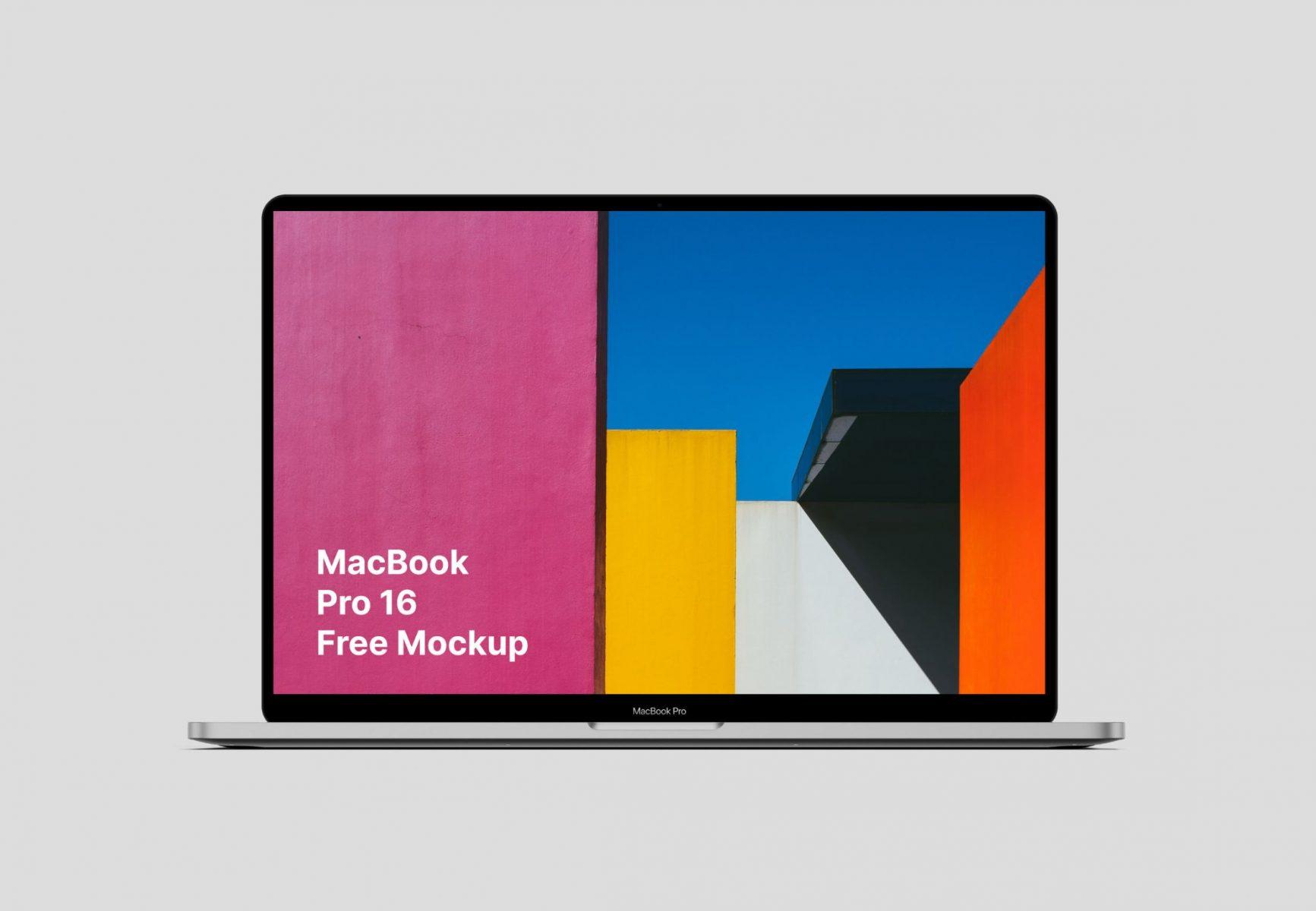 MacBook Pro 16 Mockups