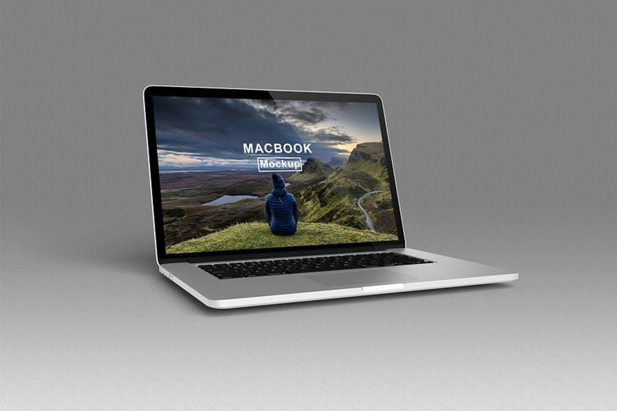 MacBook Screen Presentation Mockup