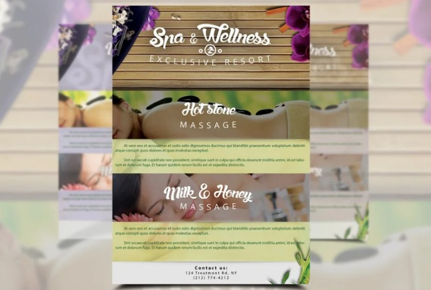 Manicures Flyer Templates