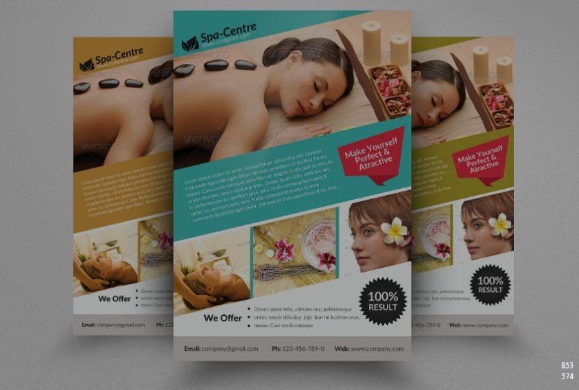Massage Flyer design