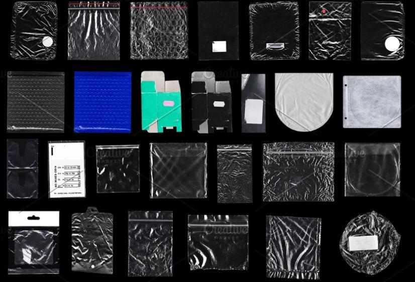 Mega Plastic Shrink Textures