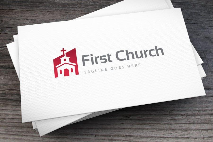 Minimal Church Branding Logo