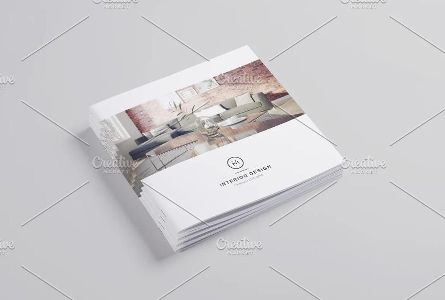 Minimal Interior Brochure Templates