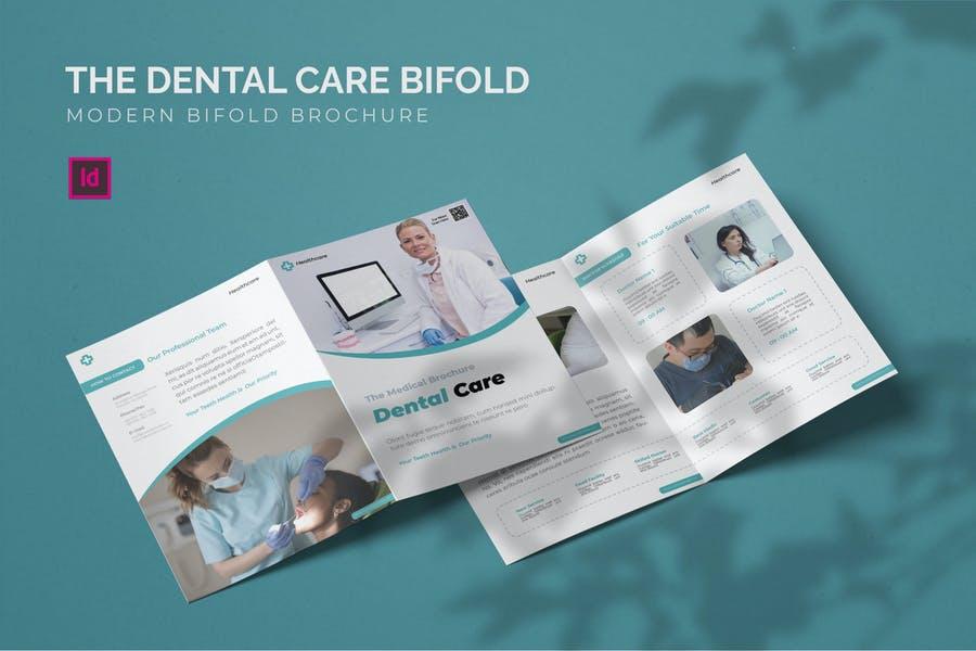 Modern Bi Fold Brochure Designs