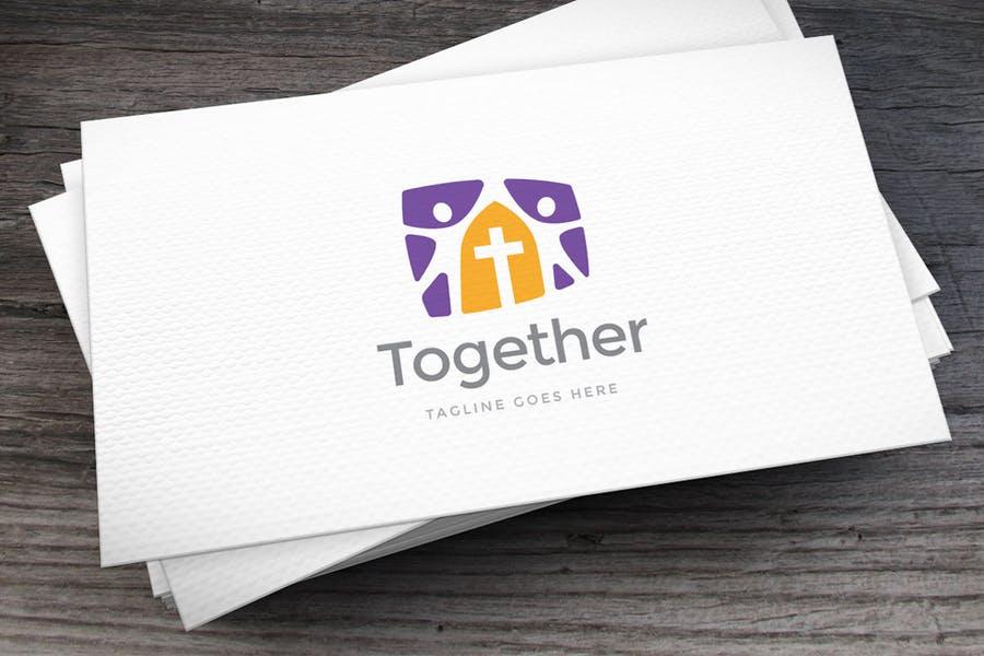 Modern Prayer idea Logo