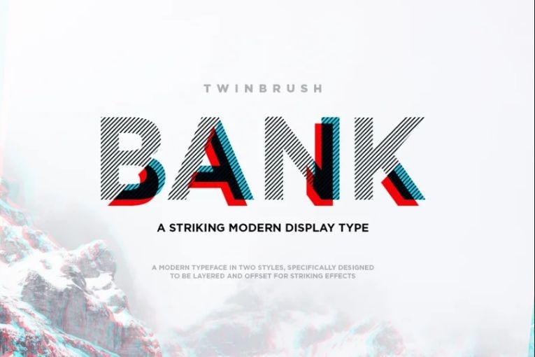 Modern Striking Display Typefaces