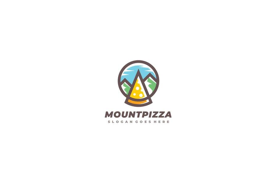 Mountain Pizza Identity Design