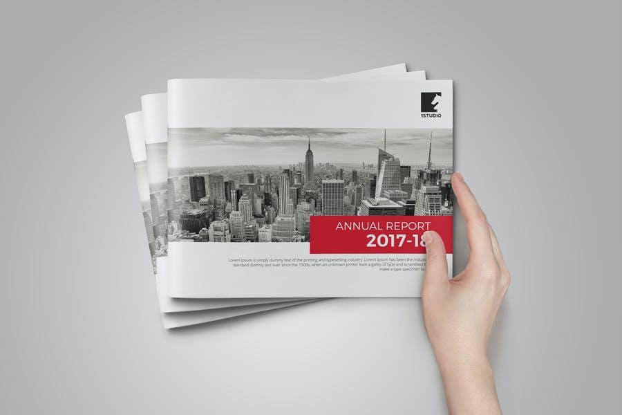 Multipurpose Annual Report Brochures