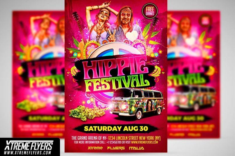 Music Festival Flyer Templates